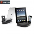 Griffin PowerDock dvigubas stovas iPad / iPhone/ iPod